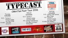 CMA Fest Flyer